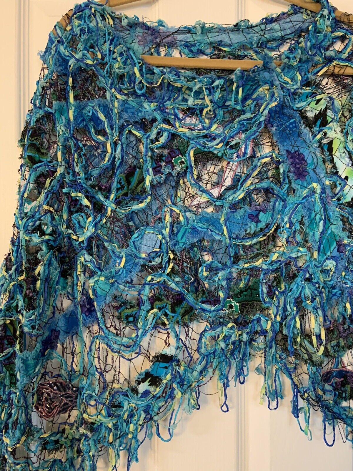Custom Boutique Knited Shawl - image 2