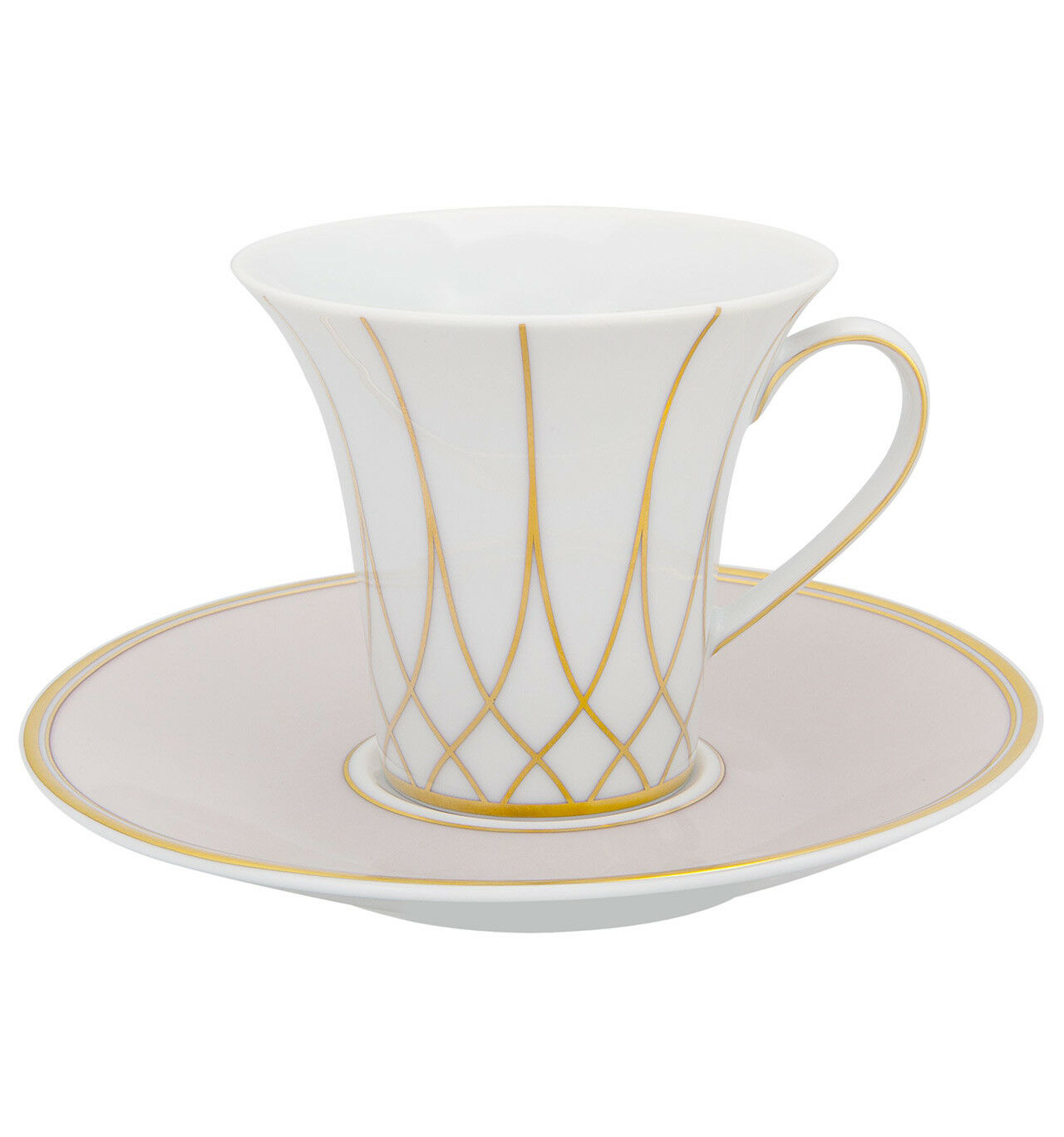 Vista Alegre Terrace Coffee cup and Saucer 13cl - Set of 8