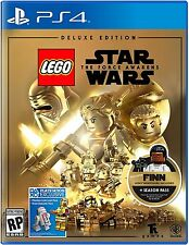 LEGO Star Wars: The Force Awakens Deluxe Edition- Playstation 4 (PS4) BRAND NEW