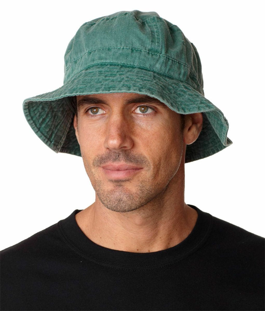 Adams Dyed Pigment Dyed Adams 100% Cotton Vacationer Bucket Cap Hat VA101  Free Shipping 8292d0