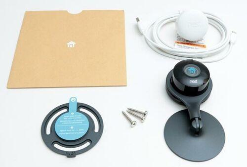 Nest Cam Indoor NC1102ES 1080p Live Stream Security Camera Black New WI-Fi