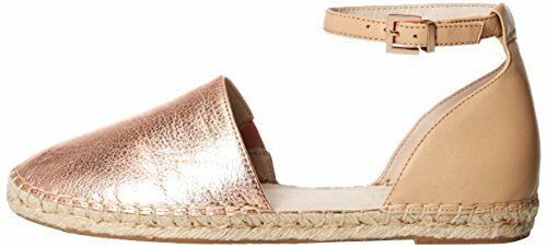 Kenneth Cole Strap Flat Ankle Shoes Blaire Strap Cole Espadrille Rose Gold/Nude 8.5M 72ffc2