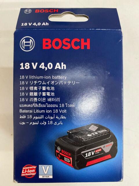 Bosch 18V 4.0Ah Lithium-Ion Battery 18V 4.0Ah Genuine Brand New FREE POST