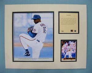 New York Mets Dwight Gooden 1994 Baseball 11x14 MATTED Kelly Russell Print