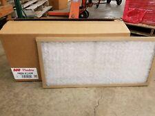CASE OF 12 Flanders 16x16x1 Inch Spun Fiberglass Air Filters 10055.011616