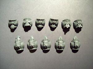 5 Space Marine Grey Knight Bodies bits