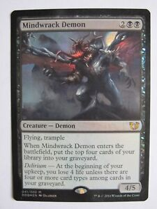 Duel-Deck-Mindwrack-Demon-FOIL-MTG-Magic-VO