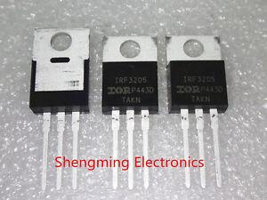 10PCS-IRF3205-IRF3205PBF-55V-110A-200W-TO-220-100-Original-IR