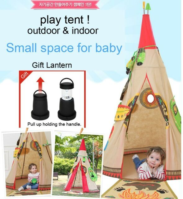Play Tent for Baby Outdoor Indoor Playhouse Kids Wigwam Children Teepee Ball Pit  sc 1 st  eBay & Teepees and Play Tents collection on eBay!