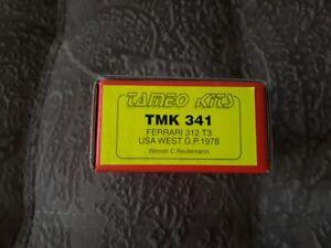 NEW-Tameo-Kits-TMK-341-Ferrari-312T3-USA-GP-1978-Winner-Reutermann