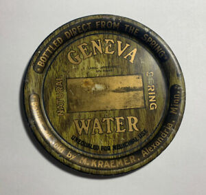 Geneva Water Tip Tray, M Kraemer. Alexandria MN