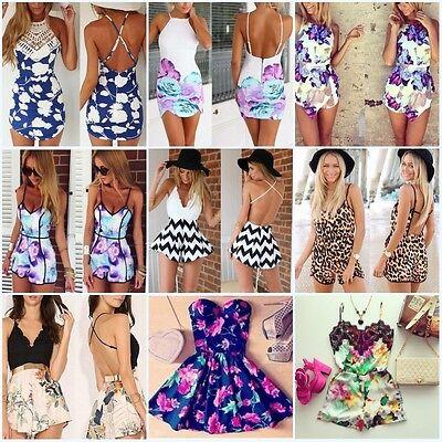 Sexy Celeb Lace Playsuit Party Evening Summer Ladies Dress Jumpsuit Short Romper