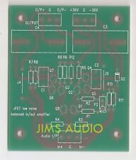 Modular J-FET preamplifier JC-2 w//JFET buffer o//p compact PCB stereo !