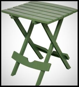 Image Is Loading Adams Outdoor Patio Table Small Rectangle Folding Portable