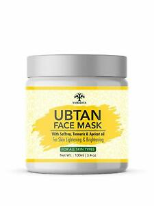 Vanalaya Ubtan face mask, Face pack for Fairness, Tanning & Glowing Skin 100ml