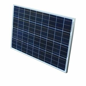 Solarpanel-Solarmodul-100Watt-12V-12Volt-Solarzelle-Solar-Poly-Polykristallin