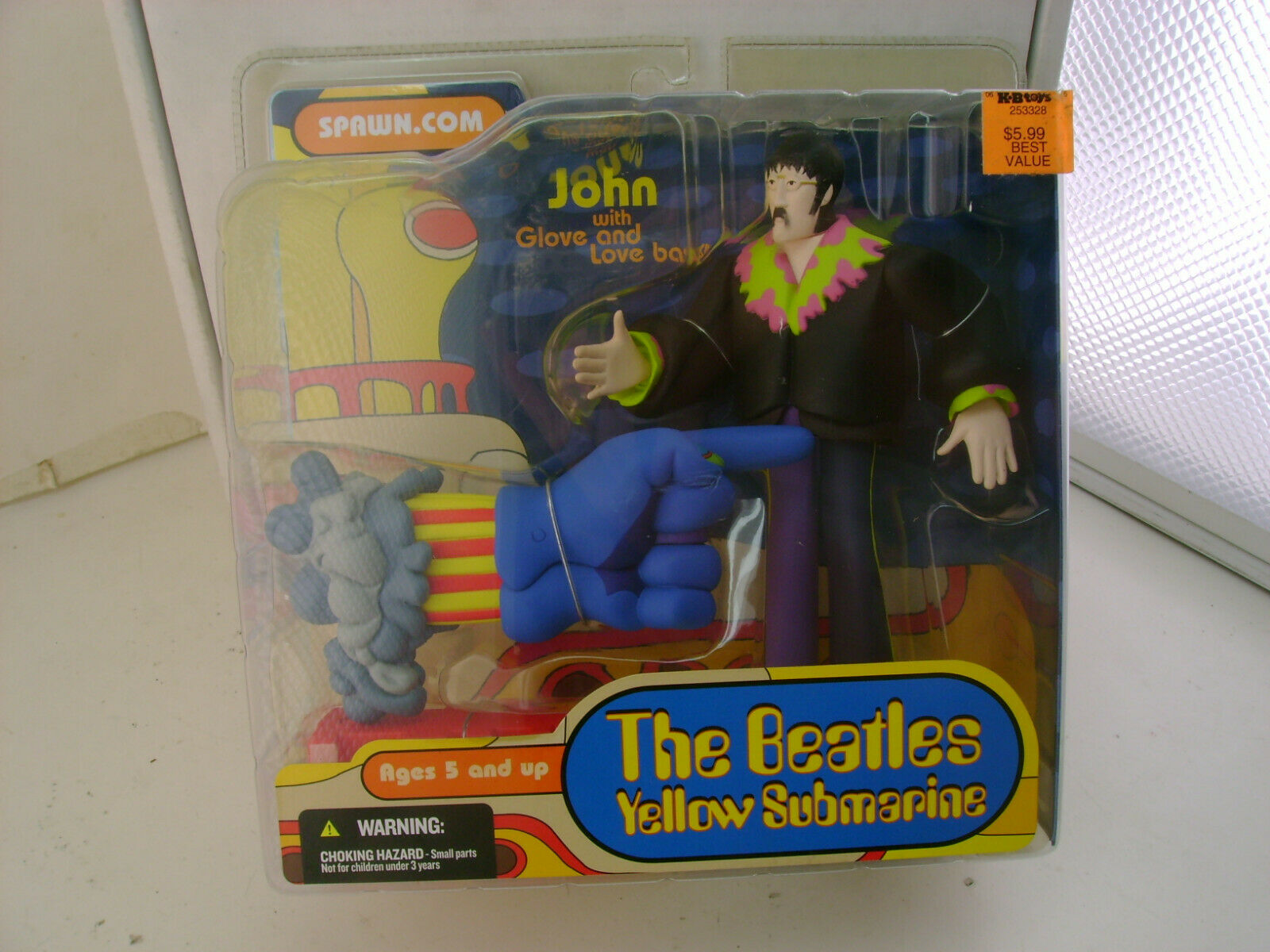 2004 McFARLANE TOYS SET OF 4 THE BEATLES YELLOW SUBMARINE NEW IN BOXES