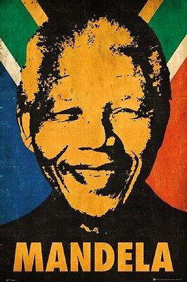 NELSON MANDELA MOTIVATIONAL INSPIRATIONAL POSTER (61x91cm)  PICTURE PRINT NEW