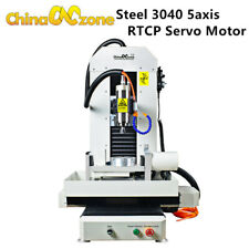 Steel Cnc 3040 5axis Cnc Router Rtcp Metal Engraver Cnc Milling Machine New Ver