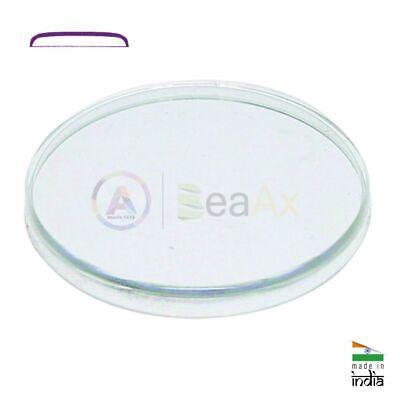 assortimento vetri plastici per orologi da polso