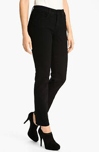 NYDJ-Not-Your-Daughter-s-Jeans-TUMMY-TUCK-BLACK-SKINNY-s-14