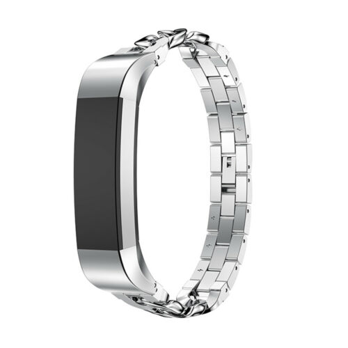Rose Gold Stainless Steel Strap Band Bracelet Replacement For Fitbit Alta//HR