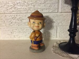 Rare-Vintage-RCMP-Royal-Canadian-Mounted-Police-Nodder-Ceramic-Bobblehead