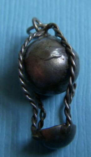 Vintage 40's hot air balloon sterling charm