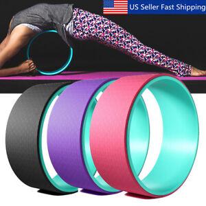 13'' yoga stretch roller wheel abdominal exerciser indoor