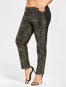 Cute Women Pants Size Plus Bronzed gPqwgAZx