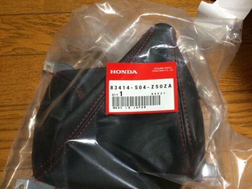 Honda Civic Shiftboot Shift Boot EK Type R 96-00 Red Stitch Genuine JDM