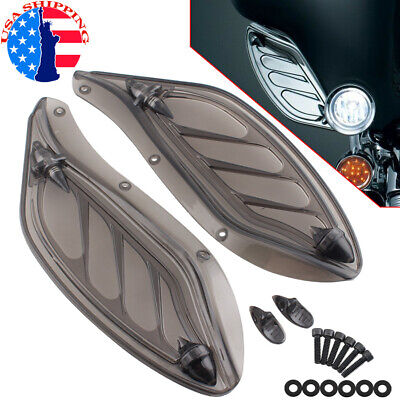 Fairing Side Wings Air Deflectors For Harley Touring Electra Street Glide 96-13