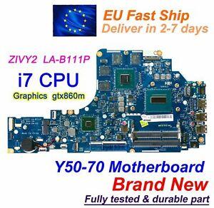 For-Lenovo-Y50-70-ZIVY2-LA-B111P-w-i7-4710HQ-CPU-GTX860m-GPU-Motherboard