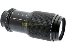 Vivitar MC zoom 80/200mm f4,5 MC, innesto vite M42 (42x1). Anche per digitali