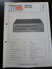 Original Service Manual  ITT Graetz Hifi 2461