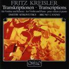 Transcriptions for Violin & Piano Fritz Kreisler Audio CD