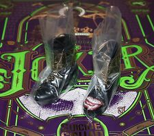 Hot Toys New Joker Purple Coat Boots & Foot Pegs 1/6 MMS382 Suicide Squad