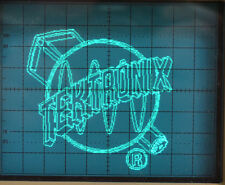 Tektronix Oscilloscope Logo and Wizard Demonstration Generator