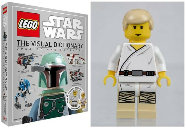 Lego Star Wars, The Visual Dictionary, HELT NYT OG UBRUGT…