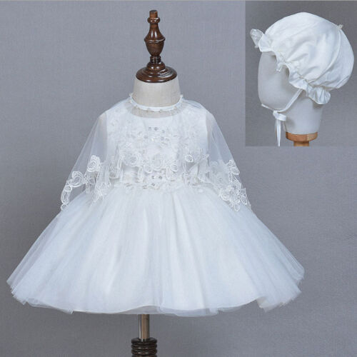 Hot Sale Toddler Baby Girls Wedding Dress Christening Baptism Birthday Clothes
