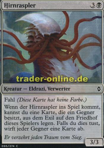 Battle for Zendikar Magic 4x Hirnraspler Mind Raker