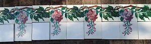 Jugendstilfliesen-Jugendstilkacheln-Tegels-Carreaux-Art-Nouveau