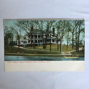 Casino-Roger-William-039-s-Park-Providence-Rhode-Island-Unposted-Postcard
