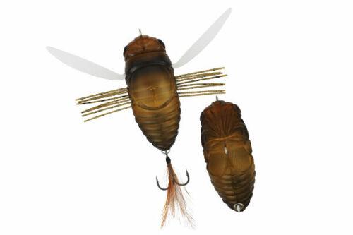 "DUO Realis Dekashinmushi Semigara 75mm 3/"" Cicada Bass Lure Topwater Bait"