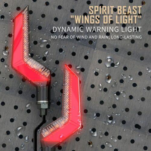 SPIRIT BEAST Motorcycle Turn Signals LED Light indicator for suzuki honda yamaha