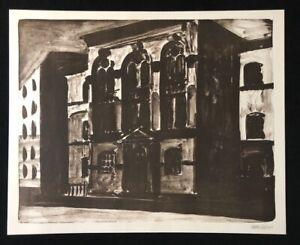 Henrik-hold-Ohne-Titel-inchiostro-di-china-LITOGRAFIA-2002-a-mano-firmata-e-datata