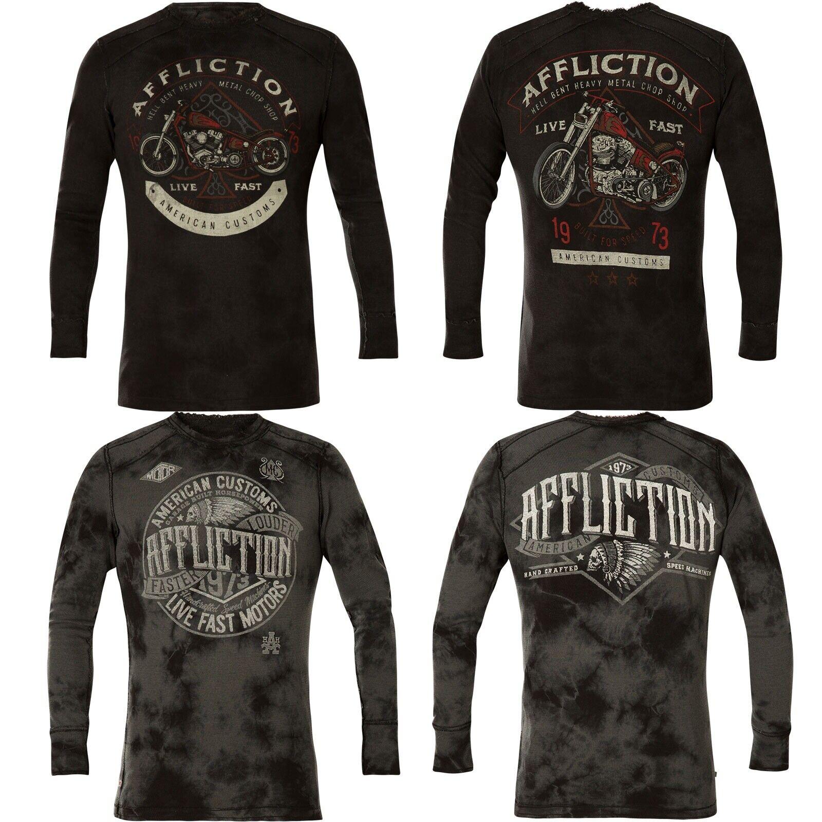 Affliction Thermal AC Petina Rev. Black/Grey