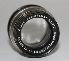 HUGO MEYER GÖRLITZ Objektiv Lens DOPPEL ANASTIGMAT 6,8/210