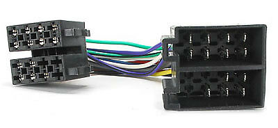 Ford S Max Quadlock ISO Arnés de cableado de Radio Headunit Conector Telar