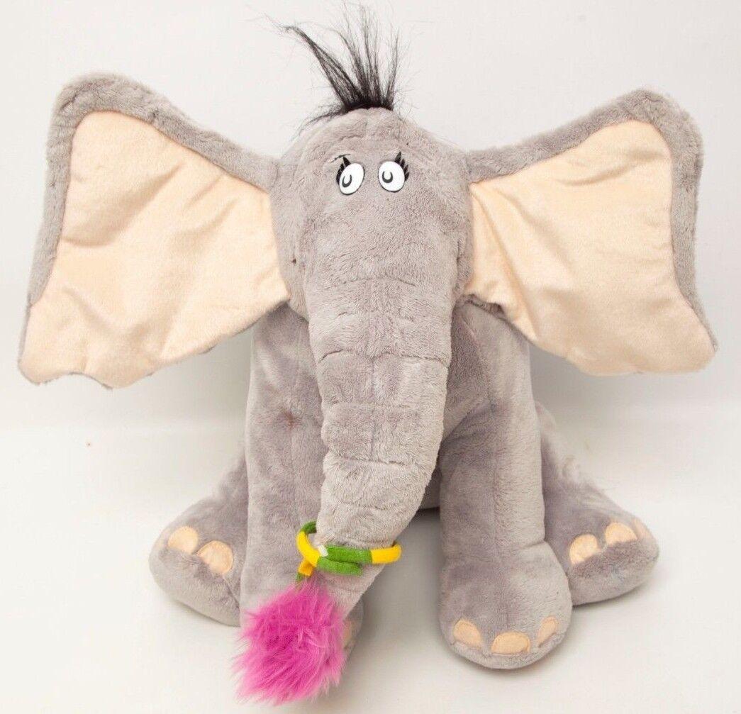Dr. Seuss Horton Hears a Who Plush Macy's 2008 Doll Toy 14  Sitting